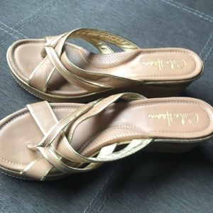 Sandals made by Cole Han